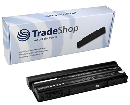 Trade-Shop Premium Li-Ion Qualitäts Akku 10,8V/11,1V / 6600mAh für Dell Latitude E-5420 E-5430 E-5520 E-5520m E-5530 E-6120 E-6420 E-6420-ATG E-6420-XFR E-6430 E-6430-ATG E-6520 E-6530 E-5420m