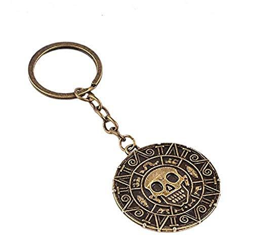 (Bronze) Schlüsselanhänger - Männer - Frauen - Unisex - Pirat der Karibik - Berühmter Film - Geschenkidee - Cosplay