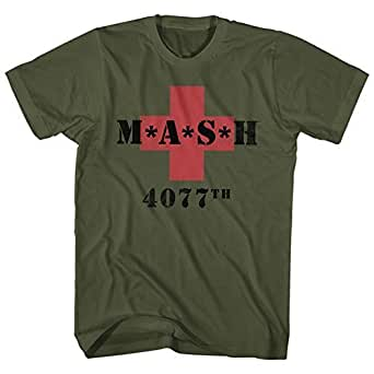 MASH 4077th M*A*S*H Vintage Green T-Shirt Tee (XXX-Large)