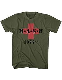 MASH 4077th M*A*S*H Vintage Green T-Shirt tee