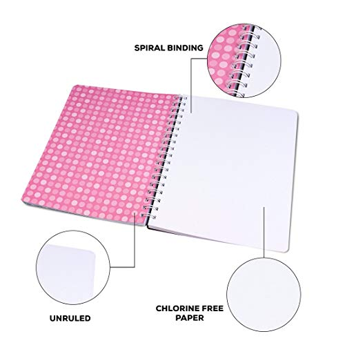 Classmate Pulse 6 Subject Notebook - Unruled, 300 Pages, Spiral Binding, 240mm*180mm Image 7