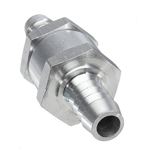 Clapet Anti-retour - SODIAL(R)Clapet Anti-retour Valve a Carburant Gasoil Diesel Aluminium (10mm)