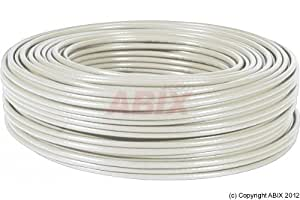 Cable CAT6a F/UTP lsoh multibrin gris bobine 100m