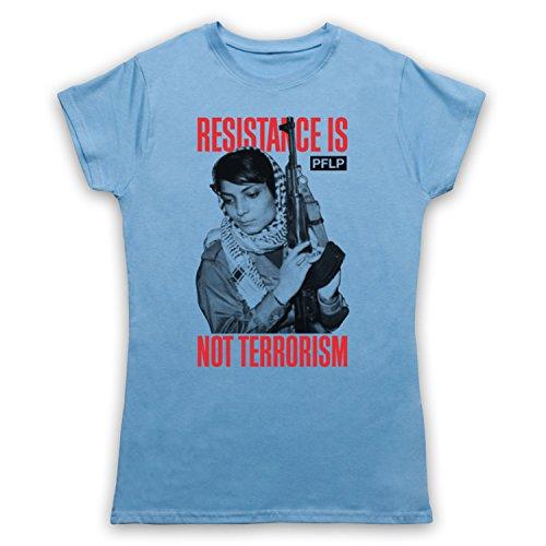 Leila Khaled Resistance Damen T-Shirt Hellblau