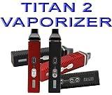 Titan II vaporizzatore (nero) senza nicotina e tabac