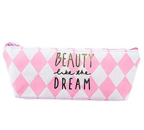 Aikesi lienzo Pen Pencil Case Kawaii Papelería Estudiante