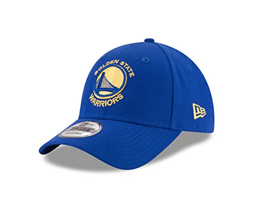 New Era 9FORTY NBA The League Golden State Warriors Kappe Unisex, blau, OneSize