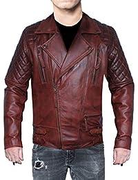 b0789d9e42 Amazon.it: giacca pelle uomo - XS / Uomo: Abbigliamento