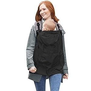 Chaqueta portador de bebé Capa Arnés de bebé Capa impermeable Capa auxiliar de lluvia de viento Capa de campana Manto de capa Bebé al aire libre esencial en cualquier época del año 6