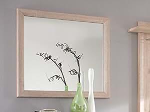 brandy wandspiegel eiche sonoma k che haushalt. Black Bedroom Furniture Sets. Home Design Ideas
