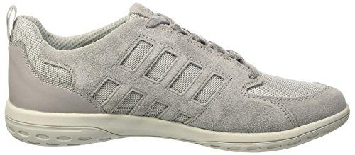 Geox U Mansel A, Sneakers Basses Homme Gris (Lt Grey)