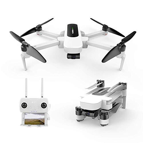 Hubsan Zino GPS FPV Faltbare Drohne 4K-Kamera mit 3-Achsen-Gimbal WIFI-APP-Steuerung Bildverfolgung Follow me Panorama-Fotografie Linie Flugmodus Wegpunkte Orbitmodus Headless