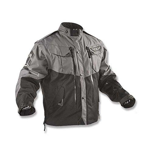 Preisvergleich Produktbild FLY RACING Jacke Patrol schwarz-grau Fly L MX Enduro DH