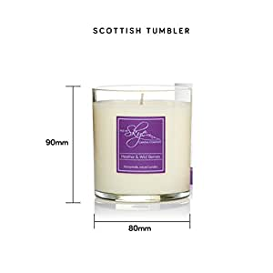 Isle of Skye Candle Company Heather and Wild Berries Scottish Range Boxed Candle, White