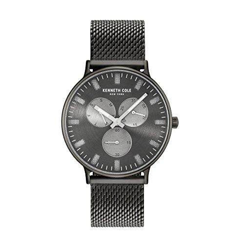 Kenneth Cole New York Orologio da uomo orologio da polso in acciaio inox 10031472