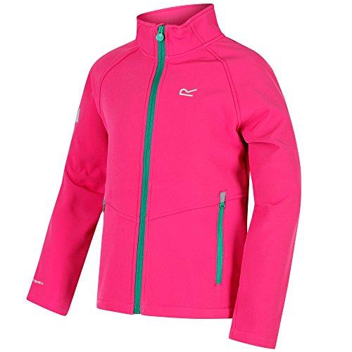 Regatta Boys & Girls Varro Woven Stretch Water Repel Softshell Jacket - Stretch Woven Jacket