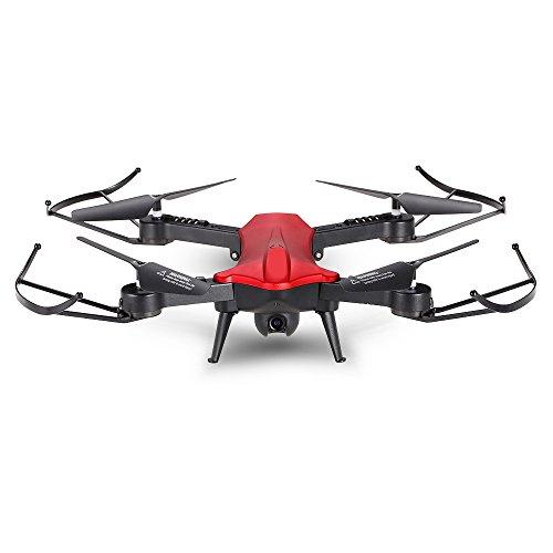 Springdoit Fotografia Aerea FPV grandangolare con Altezza Fissa 720P a 4 Assi Obiettivo Intelligente 2.4GHz WiFi HD Drone Aerial Photography