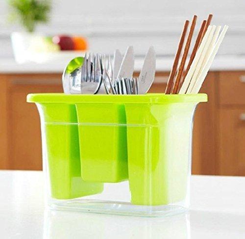 UChic 1Pcs Küche erweiterbar Grid Schublade Organizer Tray Fall Teiler Aufbewahrungsbox (Fall Erweiterbar)