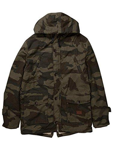 2016 Billabong Stafford Parka Jacket JUNGLE CAMO Z1JK18 Sizes- - Large