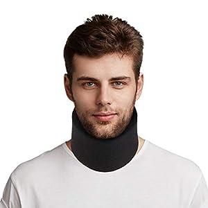 HEALIFTY Halskrause – One Size Cervical Halsband – Einstellbar – Support Wear zum Schlafen – Lindert Schmerzen und Druck im Rücken – für Männer, Frauen, ältere Menschen