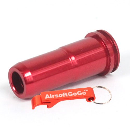 SHS Aluminium 21.47mm Air Seal Nozzle f?r Softair M4 AEG - AirsoftGoGo Schl?sselanh?nger Inklusive