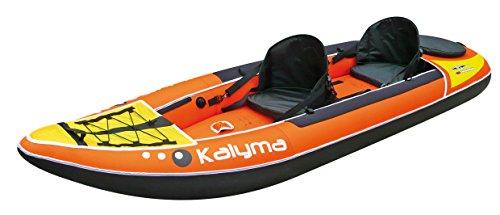 Bic Kalyma - Kayak hinchable, color naranja, 3.32 m