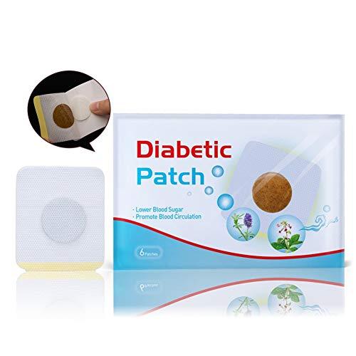 ColorfulLaVie 6Pcs Diabetes Pflaster Halten den Blutzuckerhaushalt rein Natürlich Kräuter - Behandeln Lokalisierte Diabetiker (6 pcs) -