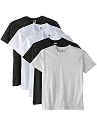 Fruit of the Loom Men's Super Premium Short Sleeve T-Shirt Pack of 5