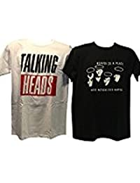 Blue Bagal Mens Talking Heads Twin T Shirt Set