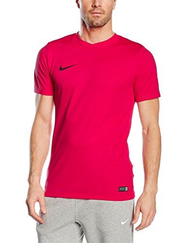 Nike SS Park Vi Jsy - Camiseta para hombre, color rosa / negro (vivid pink / black), talla M