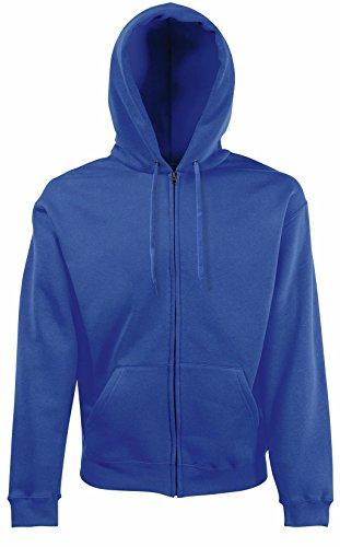 Fruit of the Loom Herren Sweatshirt Premium Hooded Zip Sweat Royal