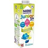 NESTLÉ JUNIOR 1+ Bajo en lactosa - Leche para niños a partir de 1 año - 4x1L