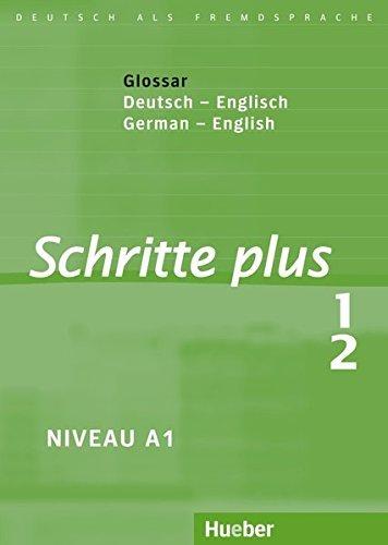 Schritte Plus: Glossar Zu Schritte Plus 1 & 2 - Deutsch / Englisch by Daniela Niebisch (2011-04-15)