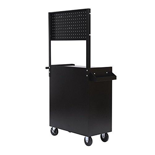 Homcom Werkstattwagen mit Lochplatte, 7 Schubladen, abschließbar - 9