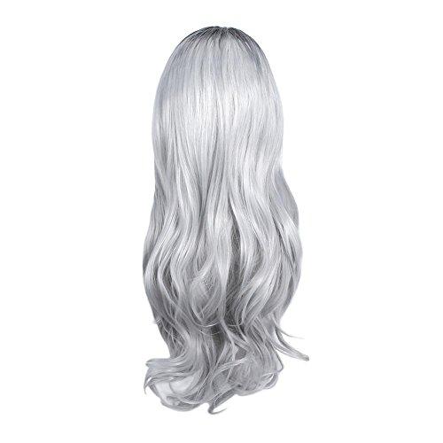 affeco Frauen hohe Temperatur Faser Synthetische Haar Big -