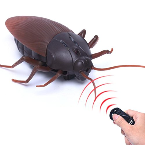 WINWINTOM Infrarot Fernbedienung Mock Fake Cockroach RC Spielzeug