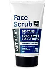 Ustraa Face Scrub De-Tan, 100g