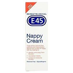 E45 Dermatological Nappy Cream, 125g