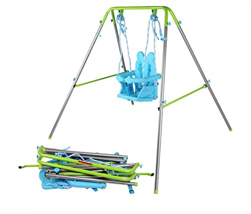 hlc-outdoor-indoor-folding-swing-toddler-swing-with-safety-baby-seat-and-carry-case