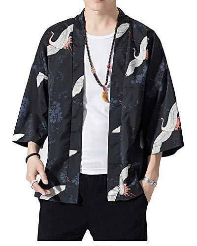 LaoZanA Estilo Chino Kimono Traje de Kimono 2 4XL
