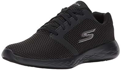 Skechers Go Run 600 15061-Bbk, Baskets Femme, Noir (001), 36.5 EU
