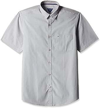 Indigo Nation Men's Formal Shirt (8907372724010_1ISE683144_44_Grey)