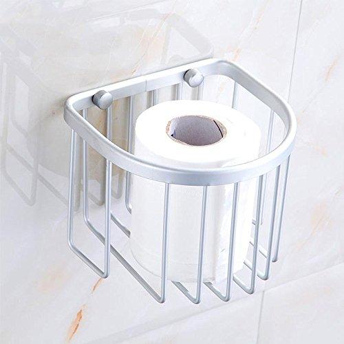 Preisvergleich Produktbild Raum Aluminium Toilettenpapier Korb Toilettenpapier Korb Papier Handtuch Handtuchhalter