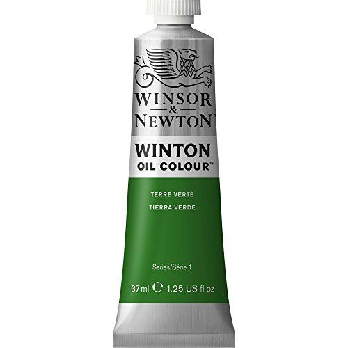 Winsor & Newton 1414637 Winton, feine hochwertige Ölfarbe - 37ml Tube mit gleichmäßiger Konsistenz, Lichtbeständig, hohe Deckkraft, Reich an Farbpigmenten - Grüne Erde