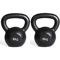 Comparador de precios IQI - Juego de pesas rusas (2 pesas de 6 kg) - precios baratos