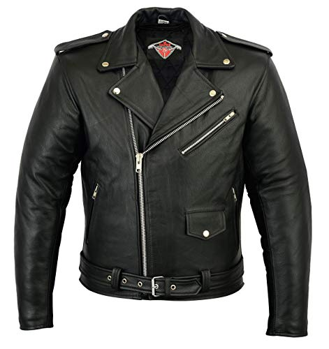 Clothing, Shoes & Accessories Lovely Naked Leather Waistcoat Motorbike Biker Mens Motorcycle Vest Laced Texpeed Apparel & Merchandise