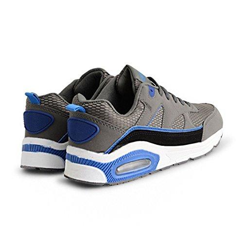 Airtech ,  Unisex Kinder Kurzschaft Stiefel Dark Grey Blue