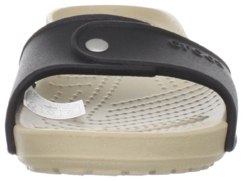 Crocs Cobbler Slide, Sandales femme Noir (Black/Chai)