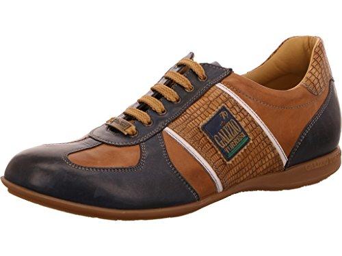 Galizio Torresi  343764 Blu/Marrone, Chaussures de ville à lacets pour homme blu/marrone