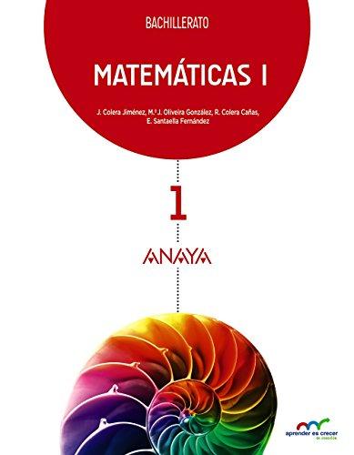 Matemáticas i (aprender es crecer en conexión)